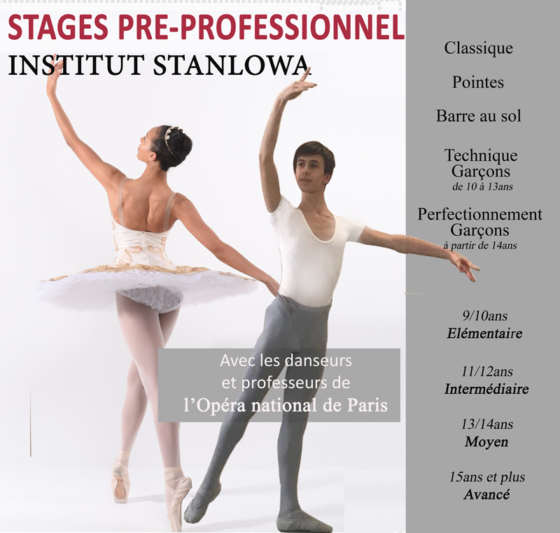 SAVE THE DATES : STAGES PRE-PROFESSIONNEL 2021